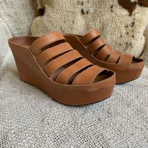 Wedge sandals/clogs